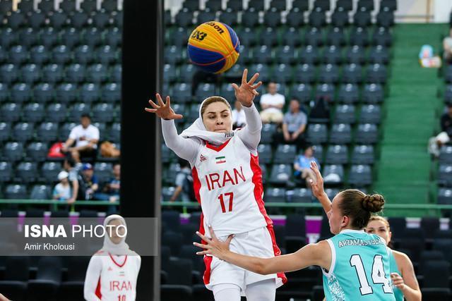 آزاده زمانپور: دختران بسکتبال تمام توان خود را گذاشتند