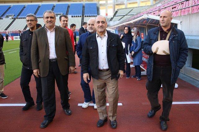آخرین تمرین پرسپولیس در حضور سفیر و نمایندگان AFC