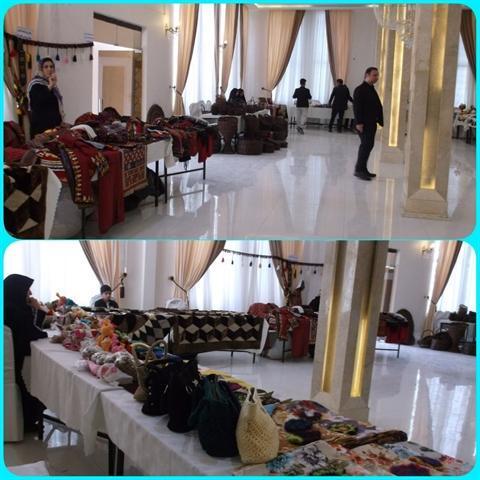 حضور 27 هنرمنداز خراسان رضوی در نمایشگاه صنایع دستی بانوان طرقبه شاندیز