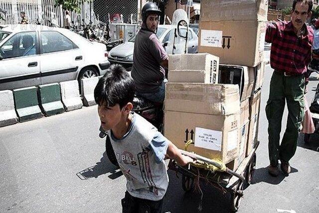 کاهش شدت جمع آوری بچه ها کار و خیابان در تهران