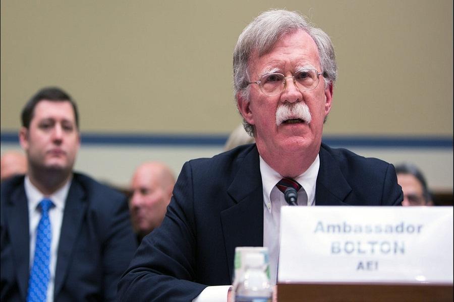 بولتون: آزمایش موشکی در کره شمالی، ترامپ را دلسرد می کند