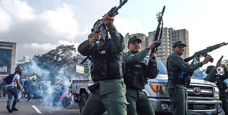 گزارش های تایید نشده از حمله مسلحانه به مراکز نظامی در ونزوئلا