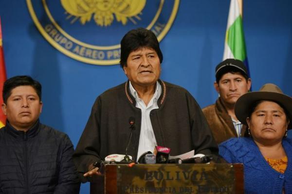 خبرنگاران مورالس خواهان مجازات عاملان کودتا در بولیوی شد