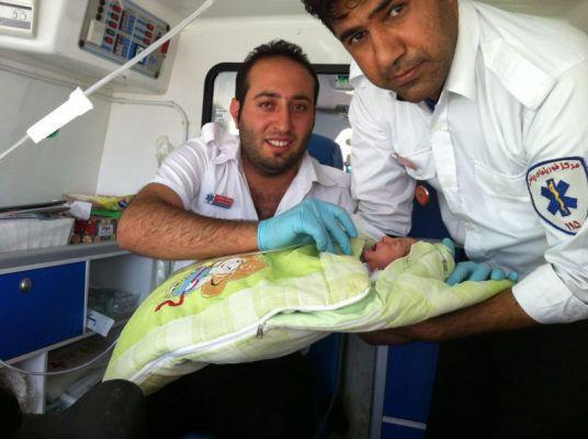 خالدی: 110 زایمان اضطراری درون آمبولانس های اورژانس انجام شد خبرنگاران