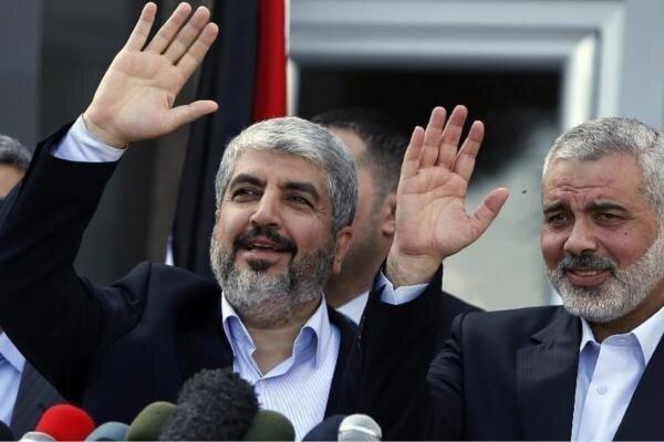 هنیه انتخاب مشعل به عنوان رئیس حماس در خارج را تبریک گفت